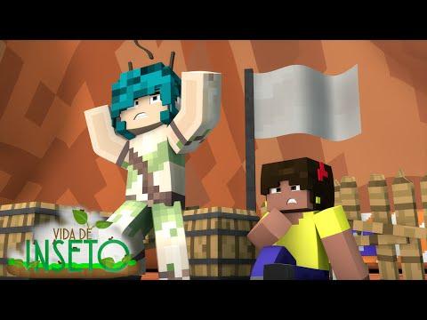 Minecraft VIDA DE INSETO 1 COMIDA PARA RAINHA