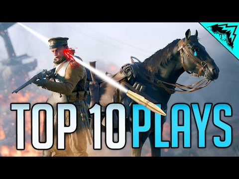 watch HORSE MURDER - Top 10 Battlefield 1 Funny Kills of the Week (Bonus Plays 41)