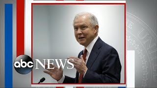 Trump attacks Attorney General Sessions on Twitter