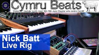 Nick Batt Live Rig Cymru Beats 2016