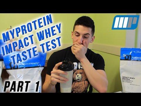 1 Man, 18 Flavors (Pt. 1) | MyProtein Impact Whey Taste Tests