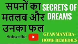 सपनों का मतलब और उनका फल | Meaning Of Dreams | Secret Of Dreams