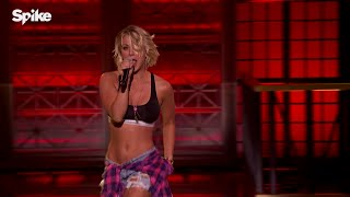 Kaley Cuoco performs Ludacris' (Move Bitch) feat. Mystikal & I-20,Lip Sync Battle Videos HD