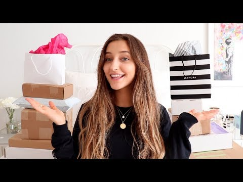 Xxx Mp4 HUGE Unboxing HAUL PR Packages And Online Shopping 3gp Sex