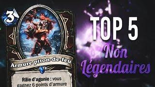 TOP 5 NON LÉGENDAIRES - Les Chevaliers du Trône de glace