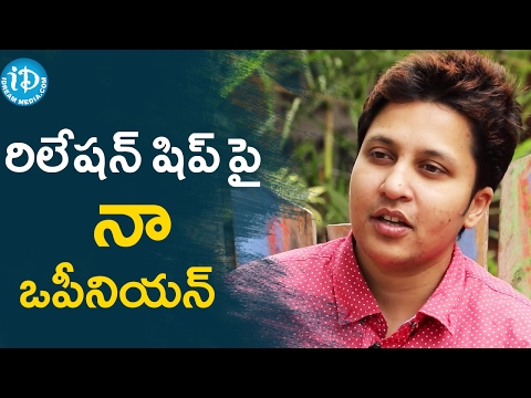 Snigdha's Opinion About Her Relationship || Talking Movies with iDream
