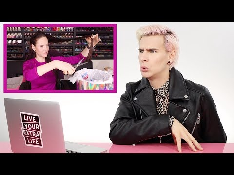 HAIRDRESSER REACTS TO SIMPLY SNAILOGICAL CRISTINE CUTTING HER HAIR