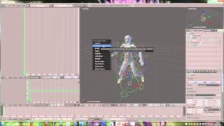 Making a secondlife animation with avastar and blender