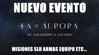 Destiny NUEVO EVENTO LA AURORA   CARRERAS COLIBRIES ARMAS MISIONES ETC   INFORMACION