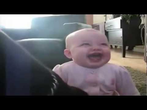 Bebi qesh me qenin qe ha kokoshka ..hidden camera
