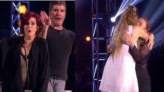 Simon Cowell FURIOUS At Nicole When Loverine Fermino Takes Talia Dean´s Seat! (MADNESS)