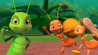 Smart Ants Song | Hindi Rhymes for Children | Infobells