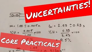 Errors, Percentage Uncertainties and Compound Errors - A Level Physics Revision