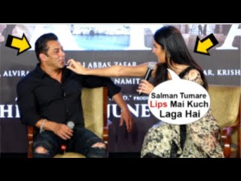 Xxx Mp4 Katrina Kaif 39 S CUTE Moment With BOYFRIEND Salman Khan In Front Of Media Zinda Song Launch 3gp Sex