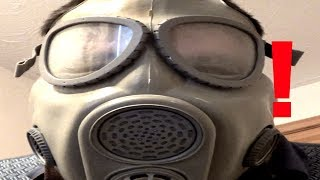 Czech M10 Gas Mask Angry review and failed test