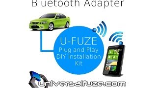 Ford Bluetooth Audio streaming adapter plug and play into a BA BF Falcon or Territory