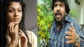 T Rajendar in Background on Nayanthara's Nude Video Issue