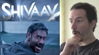SHIVAAY - Official Trailer REACTION & REVIEW