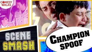 Champion Spoof | Sajid Khan Ki Picture To Nahi Dikhaoge?  Ft.(Sunny Deol) | Scene Smash