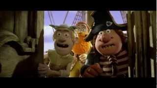 Piratas Pirados! (The Pirates! Band of Misfits, 2012) - Trailer Dublado