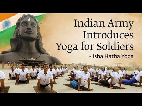Xxx Mp4 Indian Army Introduces Yoga For Soldiers Isha Hatha Yoga 3gp Sex