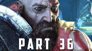 GOD OF WAR Walkthrough Gameplay Part 36 - MUSPELHEIM TRIALS (God of War 4)