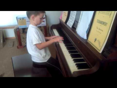 Forest plays Sonata #2 in C minor