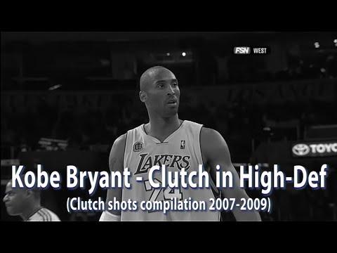 Kobe Bryant • Clutch in High-Def