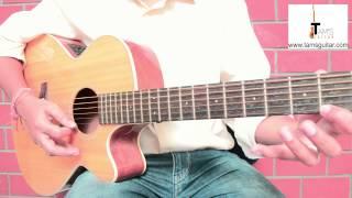 Sweep Arpeggio Guitar Lesson | C Shape Major Arpeggios (www.tamsguitar.com)