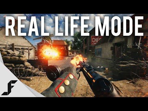 watch BATTLEFIELD 1 REAL LIFE MODE - 4K 60FPS