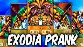 EXODIA PRANK! - Surprise Yugioh Trolling with BEST EXODIA DECK!