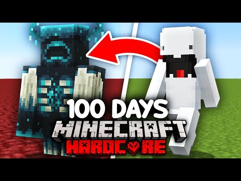 I Survived 100 Days as a SHAPESHIFTER in Minecraft