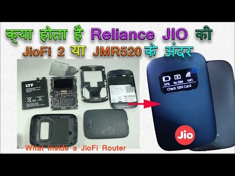 What Inside JioFi Wifi Router (JMR520)