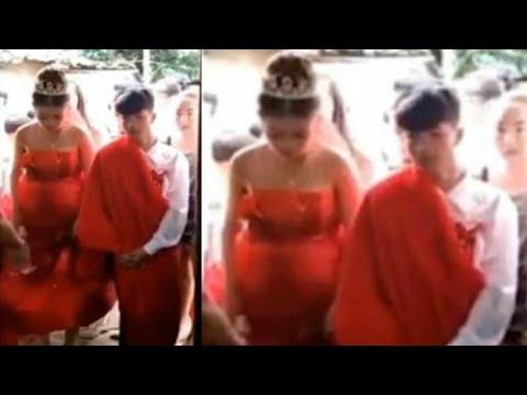 Aduh, Masih Kecil Sudah Hamil, Inilah Pernikahan Bocah 13 Tahun yang Menjadi Viral