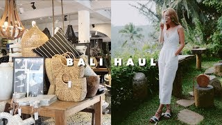 BALI HAUL: Summer Clothes, Home Decor, & Food!