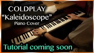 New  Coldplay  Kaleidoscope Hq Piano Cover  Sheet Music