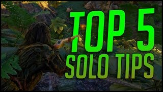TOP 5 SOLO PvP TIPS - ARK PvP Tips & Tricks | ARK Survival Evolved Guide / Tutorial