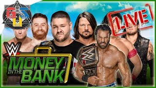 WWE MONEY IN THE BANK 2017 LIVE Stream Hangout Full Show, Live Reactions, Review & Match Card!