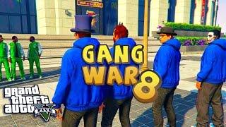 GTA 5 THUG LIFE #8 - GANG WAR BLOOD VS CRIPS | S2
