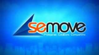Apresentação da logo do aplicativo SeMove