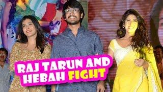 Fight Between Raj Tarun And Hebah Patel | Edo Rakam Ado Rakam | Latest Telugu Movies News 2016