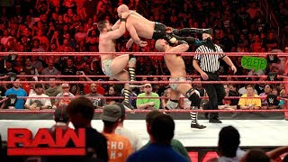 Luke Gallows & Karl Anderson vs. The Revival: Raw, July 24, 2017