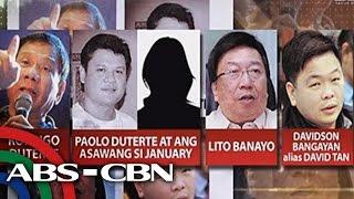 TV Patrol: Anak, tauhan ni Duterte, sangkot sa smuggling sa Davao?