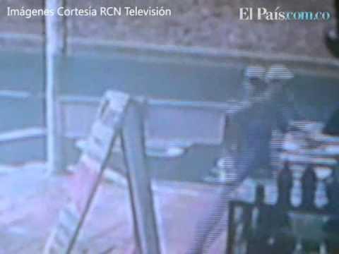 Cámara de seguridad registra ataque sicarial en norte de Cali