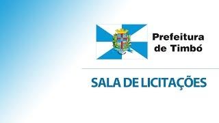 Sessão Pública Pregão Presencial n.º 34/2016 PMT - Aquisição de móveis para Secretaria de Educação