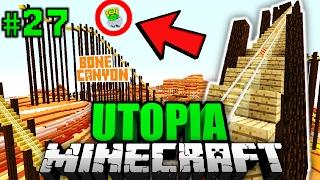 Die GIGANTISCHE ACHTERBAHN?! - Minecraft Utopia #027 [Deutsch/HD]