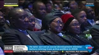 Sandile Nogxina pays tribute to Dr Zola Skweyiya