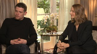 Jodie Foster Interview with Jack O'Connell - Money Monster