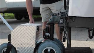 Trailer Mover   TRAX Power Dolly Systems Inc