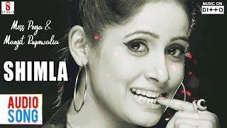 New Punjabi Songs 2016 | Shimla | Miss Pooja & Manjit Rupowalia | Latest new Punjabi Hits 2016
